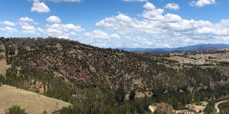 View of Landscape around Ginnindery
