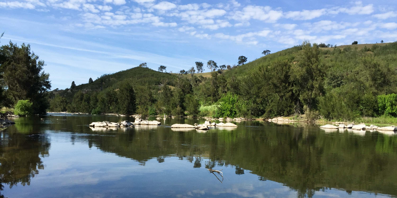 Murrumbidgee River at Ginnindery